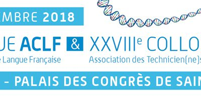 Participation au Colloque ACLF et ATC 2018